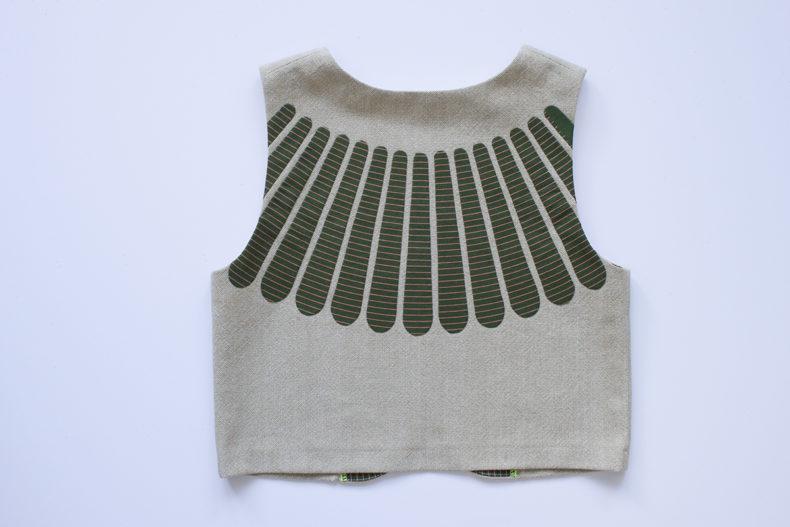 Hunt Bolero Vest . Carolyn Friedlander