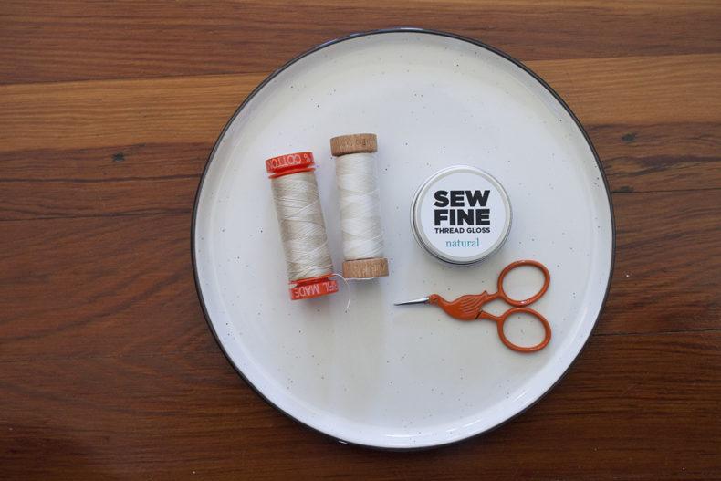 Collaboration with Sew Fine Thread Gloss . Carolyn Friedlander
