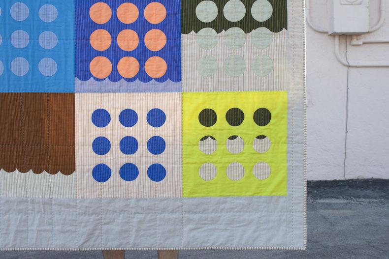 Circles Quilt In Harriot . Carolyn Friedlander