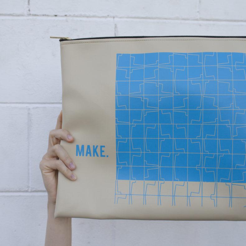 blue babson project bag . carolyn friedlander