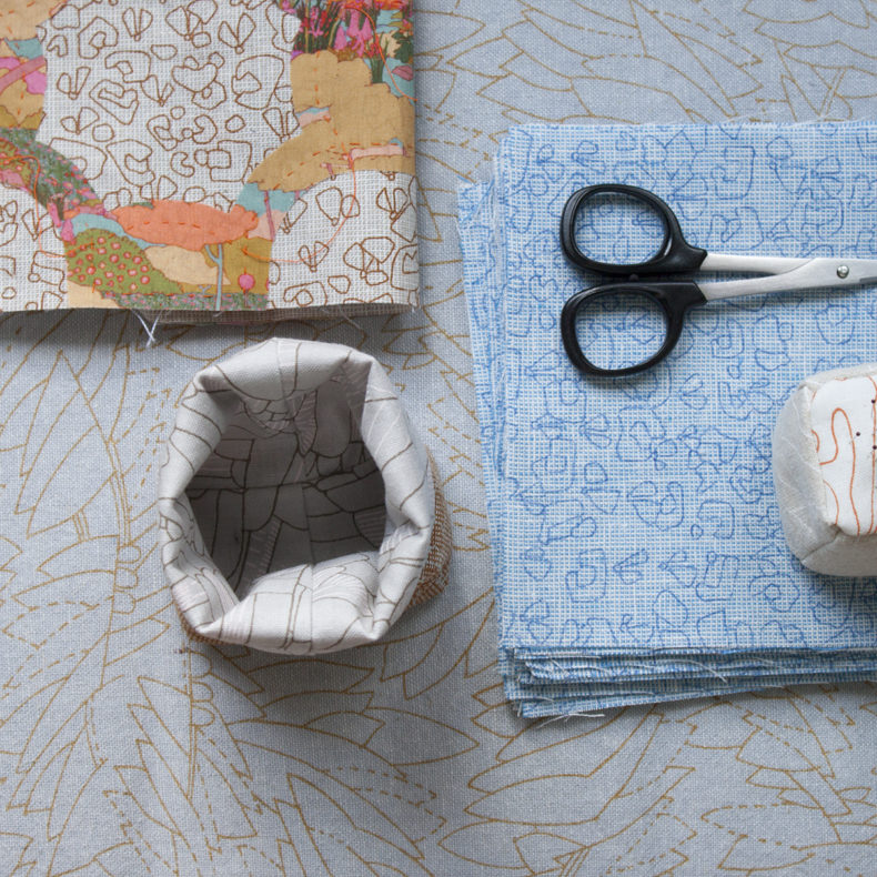 Mini Thread Catcher . Carolyn Friedlander