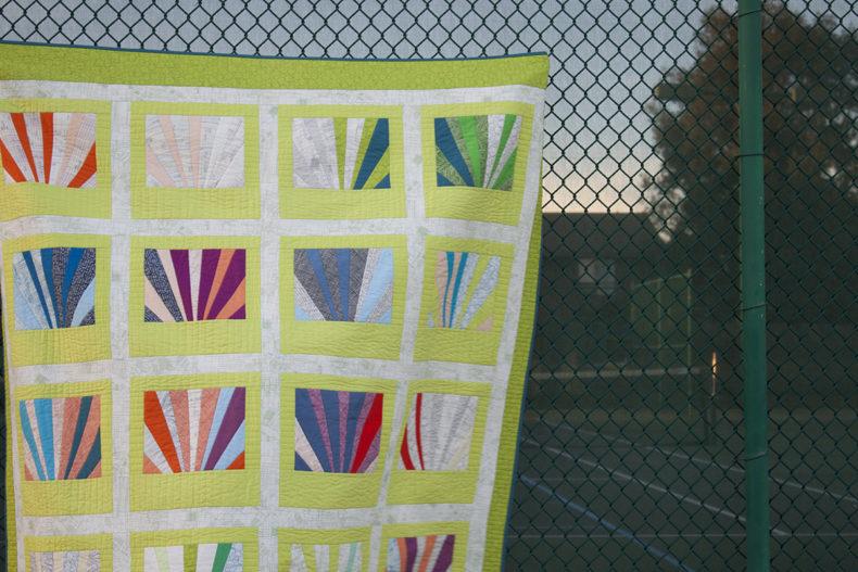 Architextures Sunrise Quilt . Carolyn Friedlander