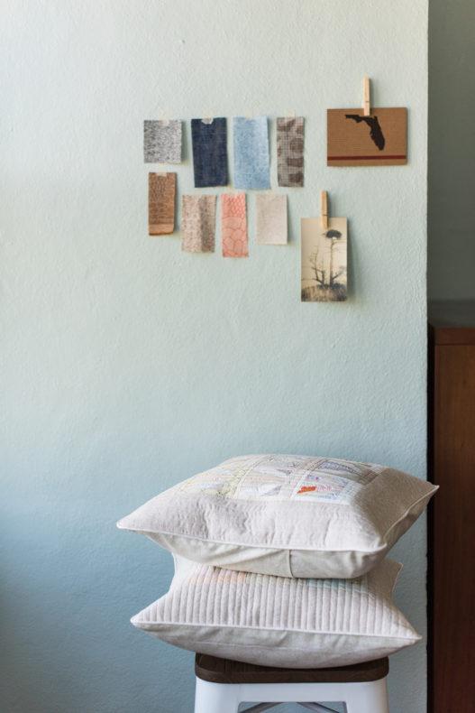 Sunrise Pillow Shams . Carolyn Friedlander
