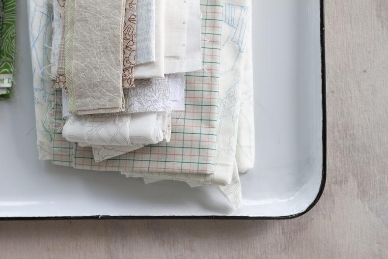 Hunt Quilt Along Fabric Pull . Carolyn Friedlander