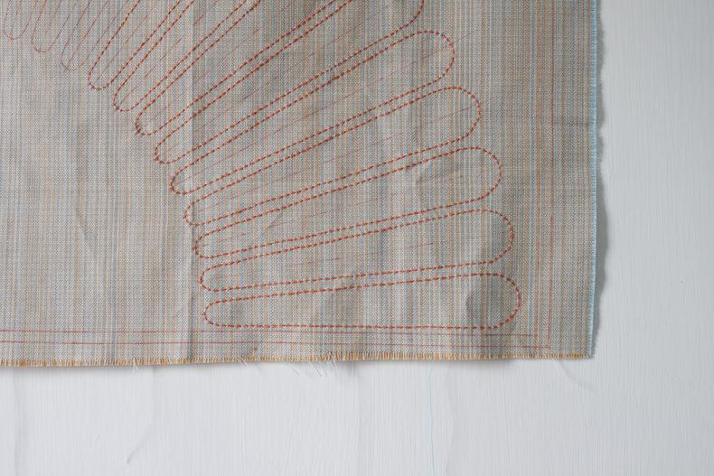 Embroidered Hunt . Carolyn Friedlander