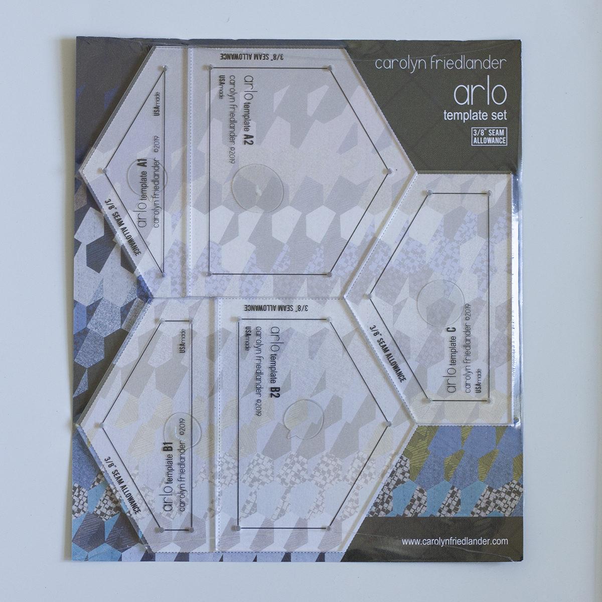 Arlo Acrylic Template Set 3/8