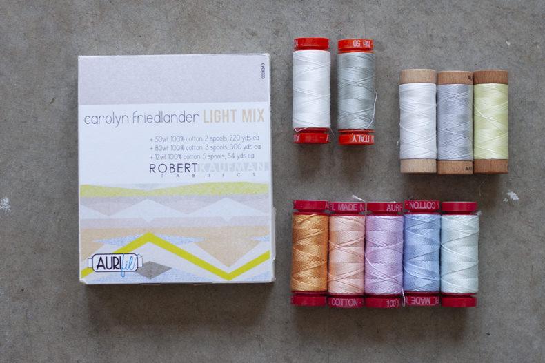 Aurifil Carolyn Friedlander Light Mix Thread Set