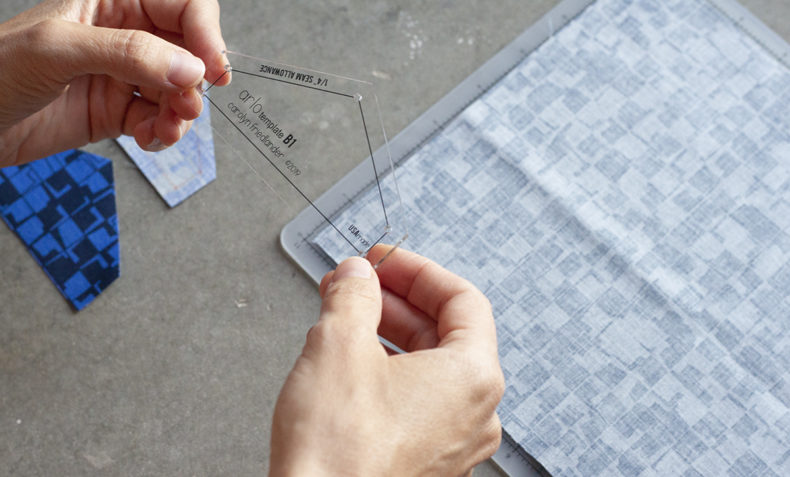 arlo quilt acrylic templates . carolyn friedlander