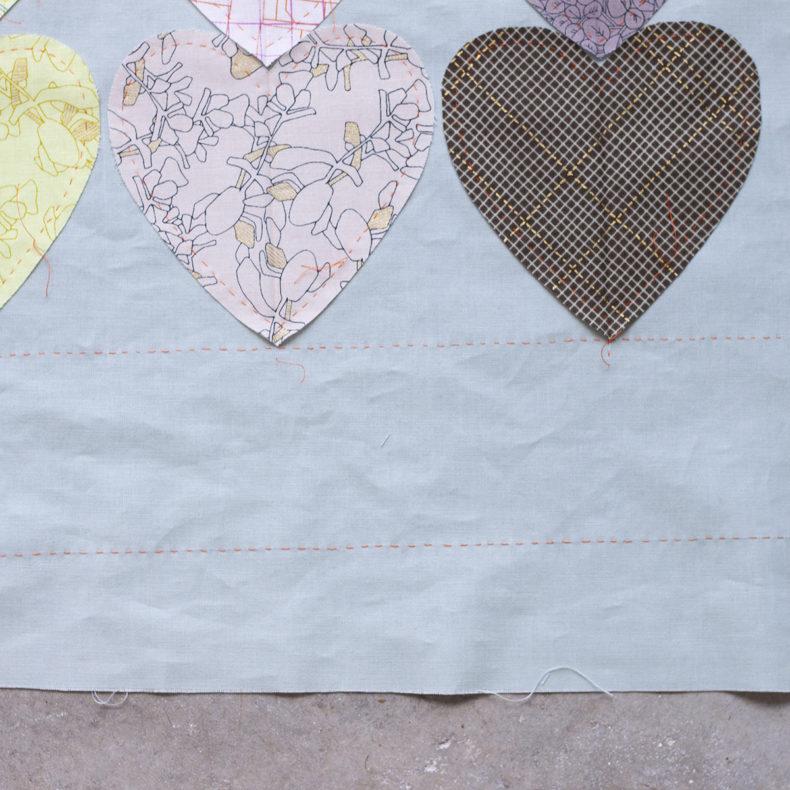 Hearts Quilt . Carolyn Friedlander