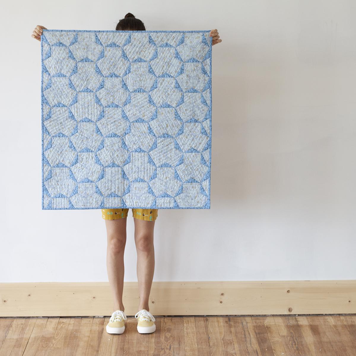 Arlo A Quilt . Carolyn Friedlander