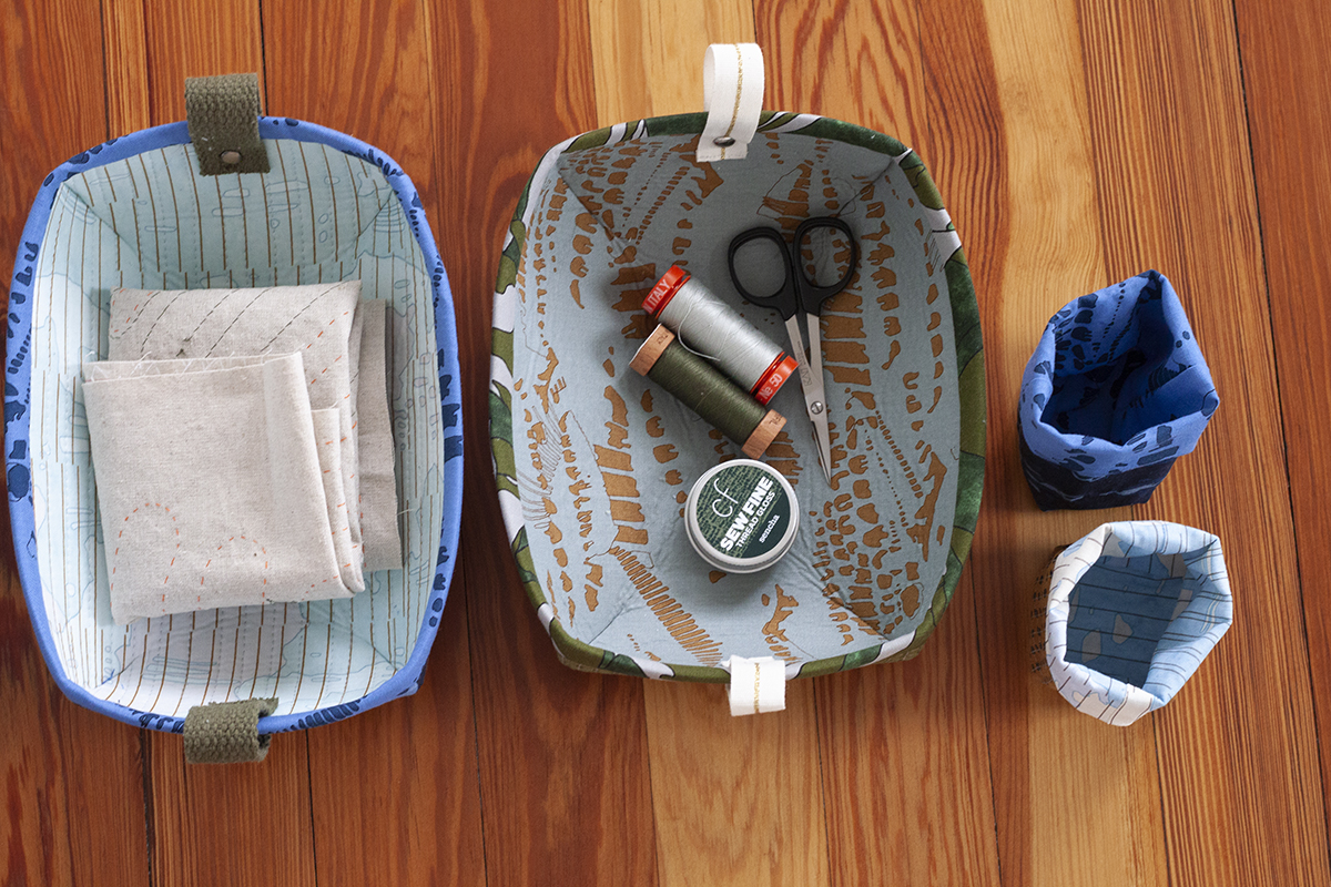 sewing trays and mini thread catchers