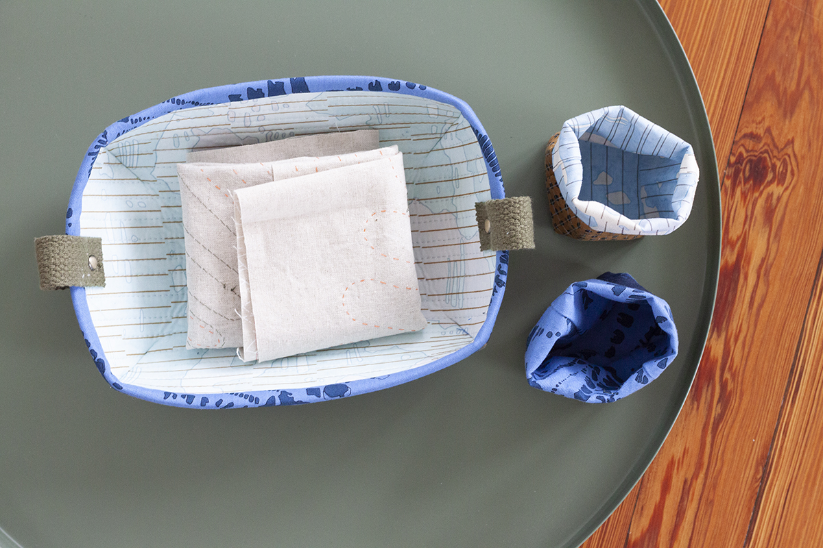 sewing tray and mini thread catchers