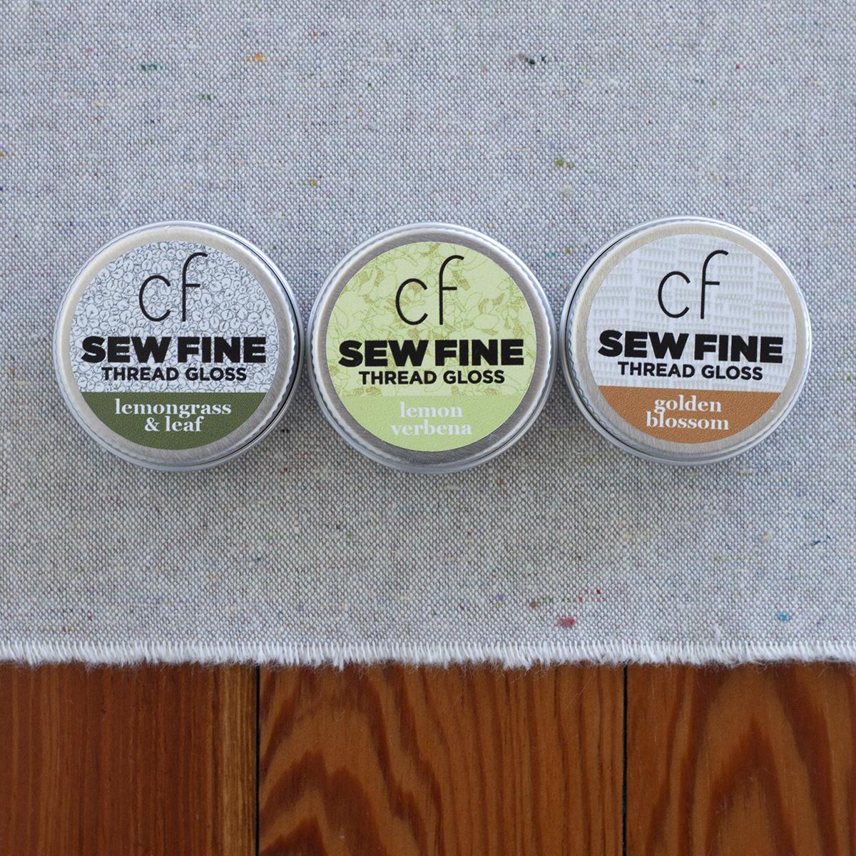 Sew Fine Thread Gloss CF collaboration