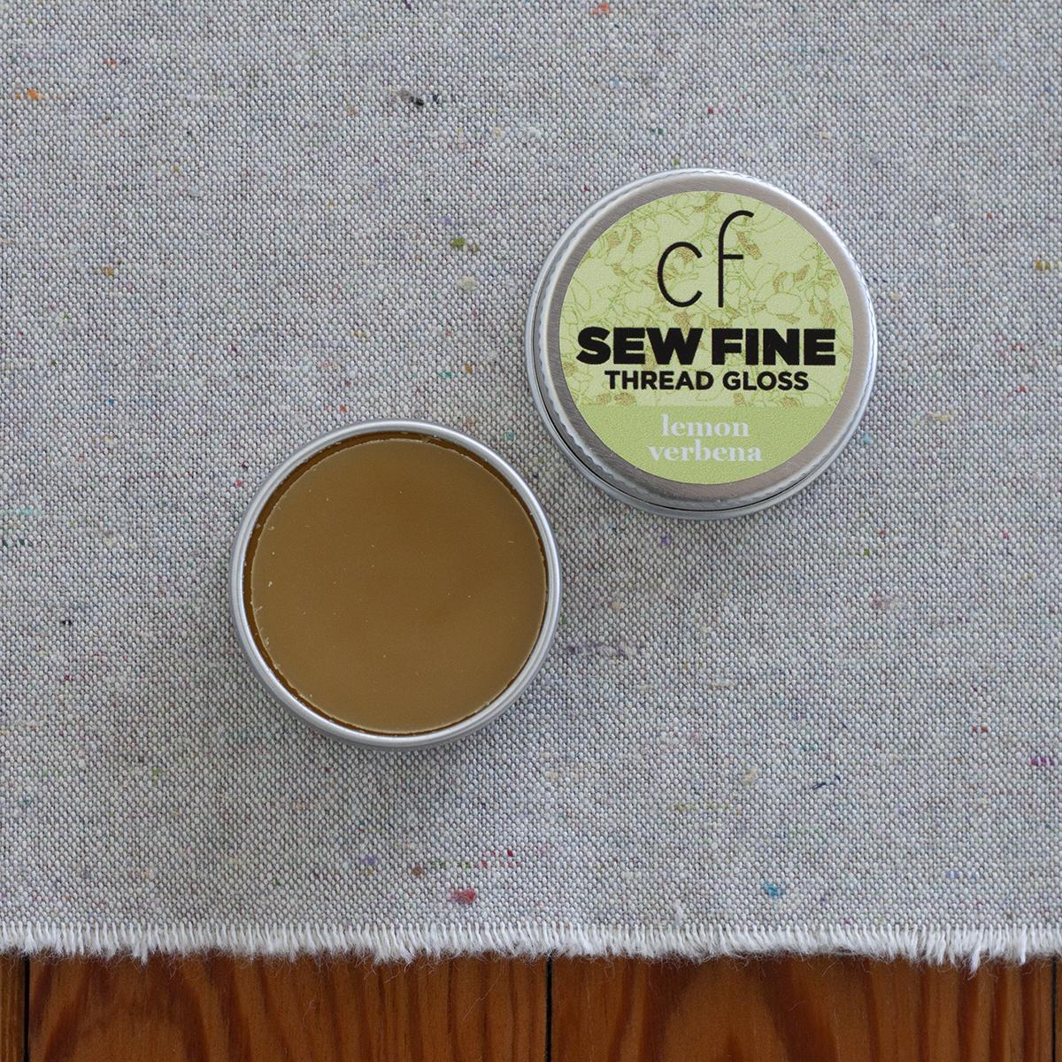 Lemon Verbena Sew Fine Thread Gloss . Carolyn Friedlander
