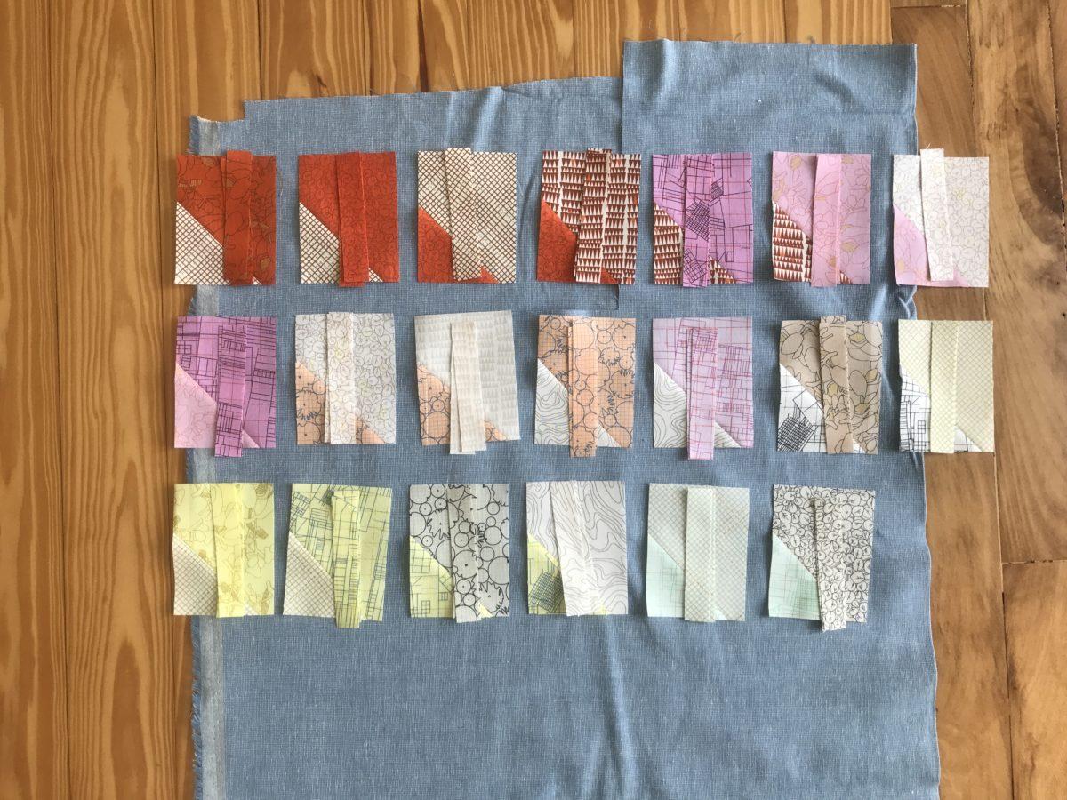 Spools quilt sewing . carolyn friedlander