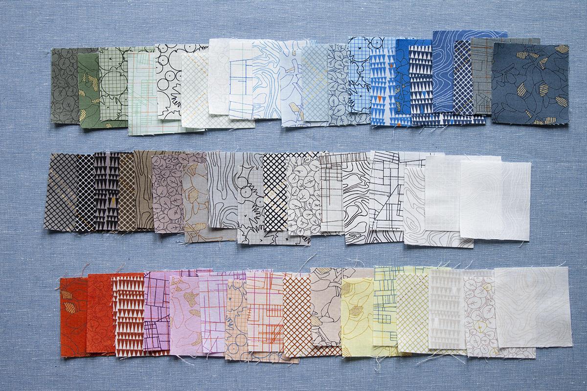 collection CF fabric 2020, carolyn friedlander