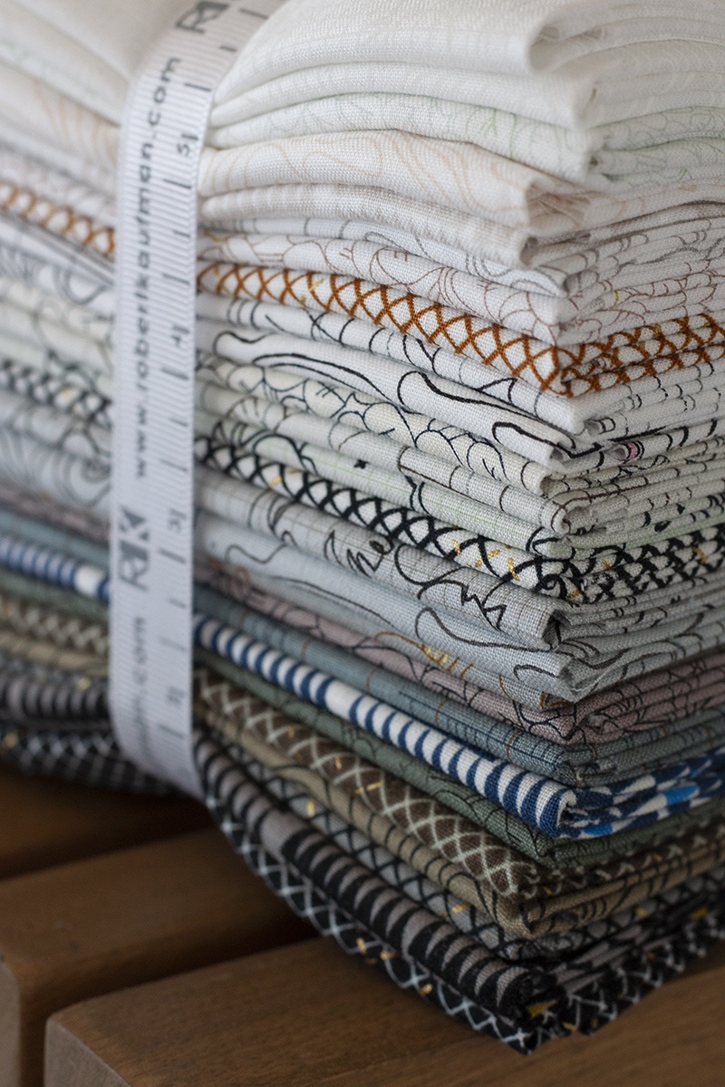 neutral collection CF FQ fabric bundle