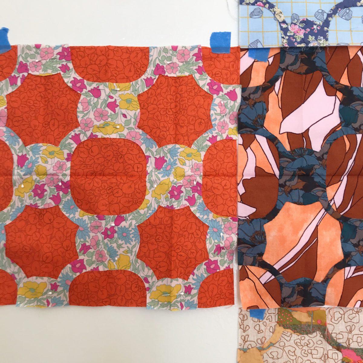 scrappy everglade quilt . carolyn friedlander