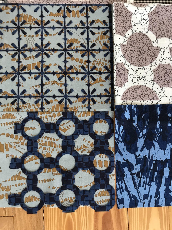 patterned background . carolyn friedlander