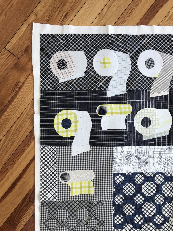 TP quilt . carolyn friedlander