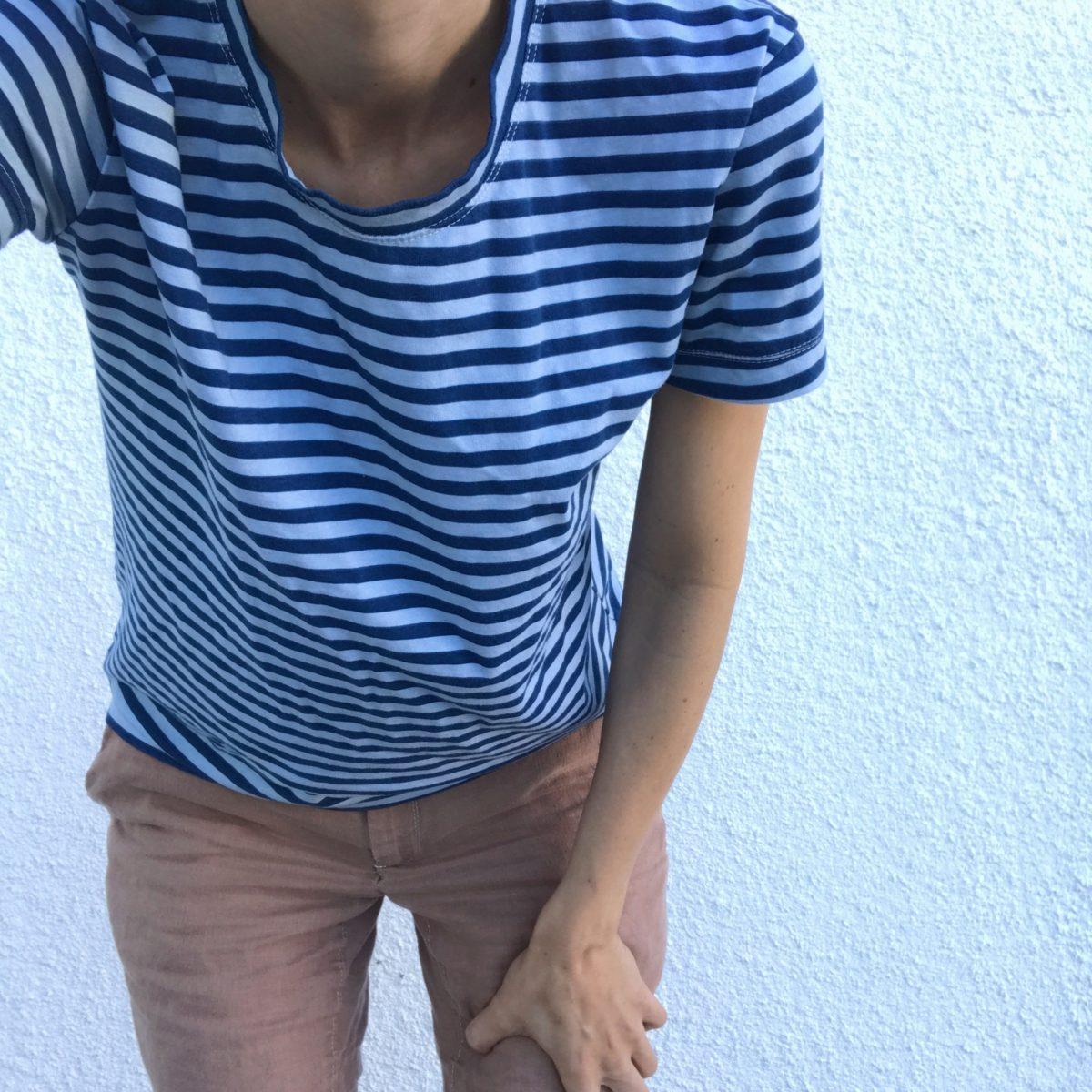 blake knit tshirt . carolyn friedlander