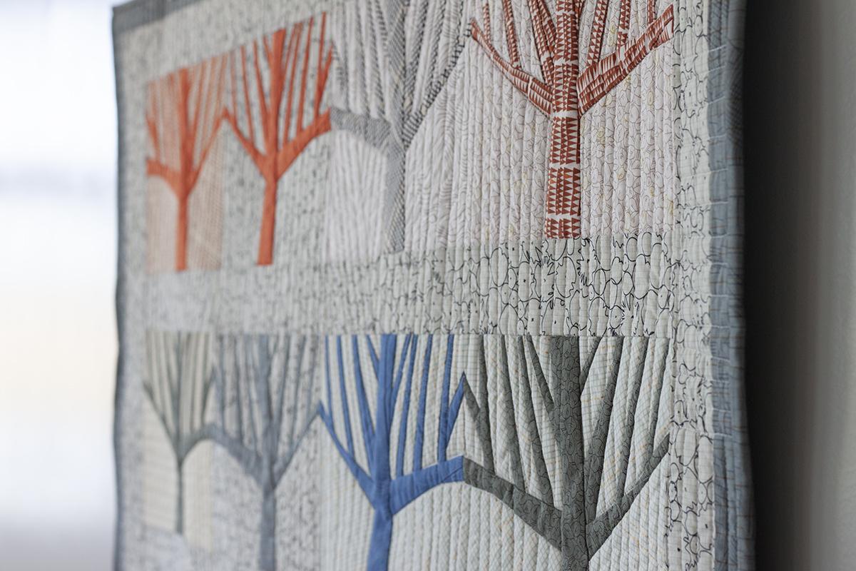 the grove quilt 2020 . carolyn friedlander
