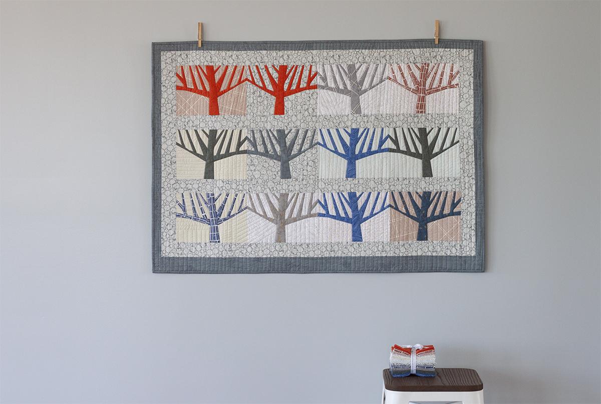 Grove Quilt . Carolyn Friedlander