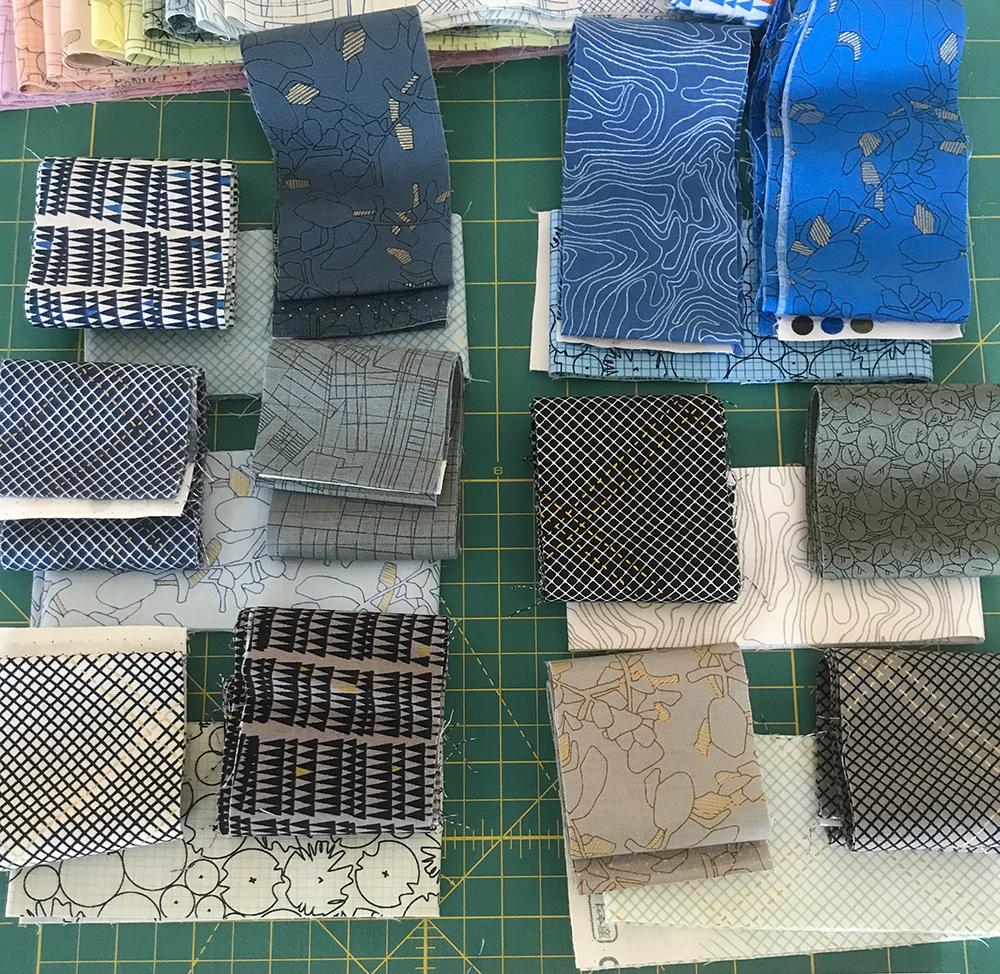 fabric planning . carolyn friedlander