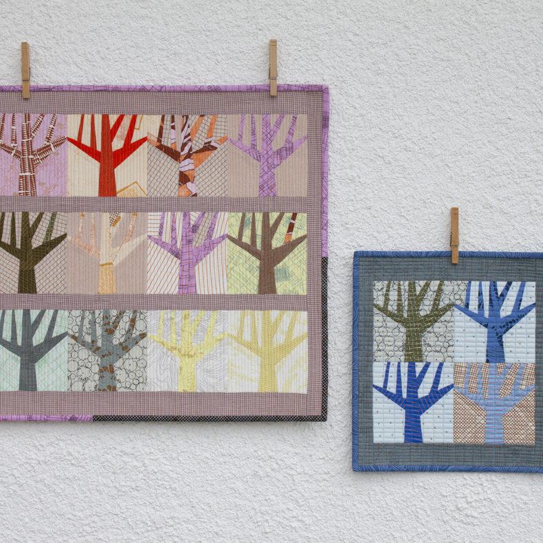 grove mini quilts . carolyn friedlander