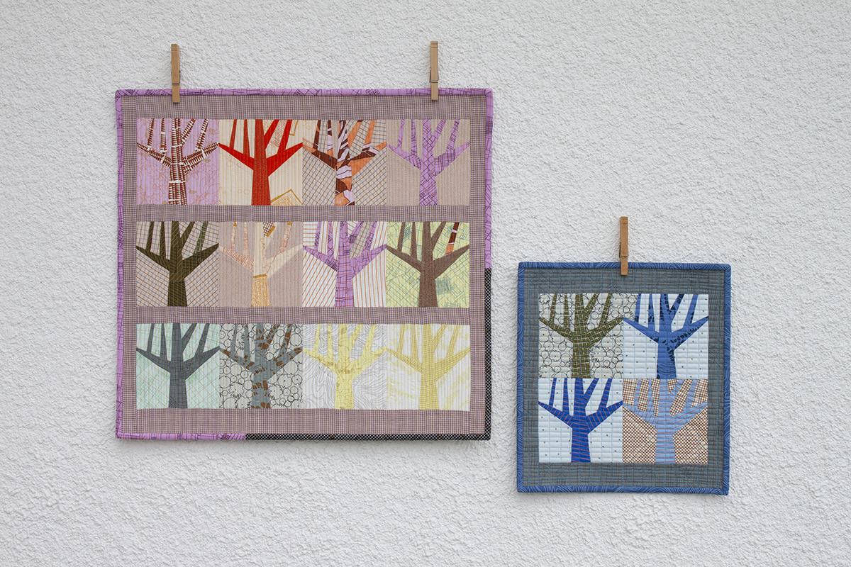 Mini Grove quilts . carolyn friedlander