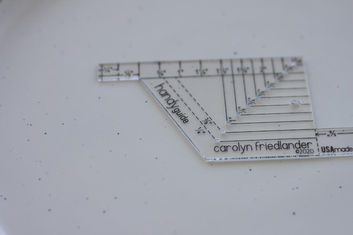 CF Handy Guide . measuring tool by Carolyn Friedlander