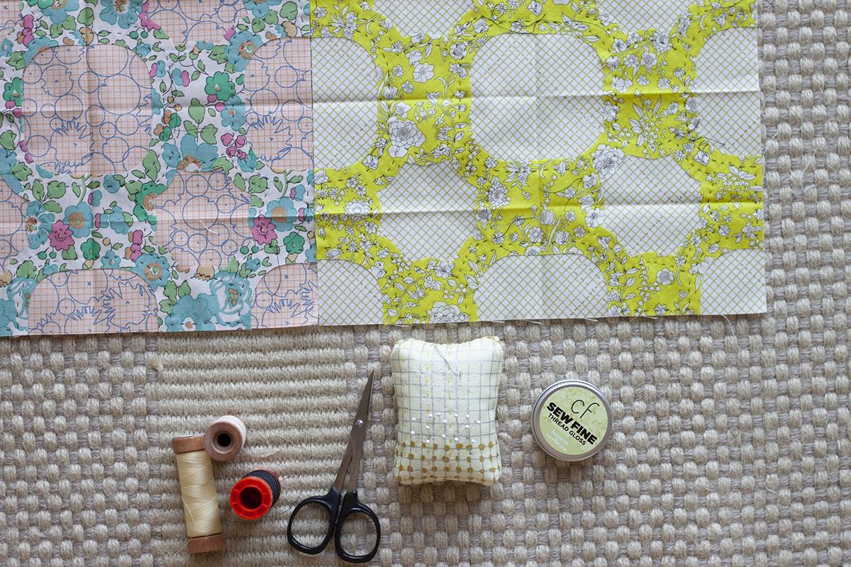 scrappy everglade quilt blocks . carolyn friedlander