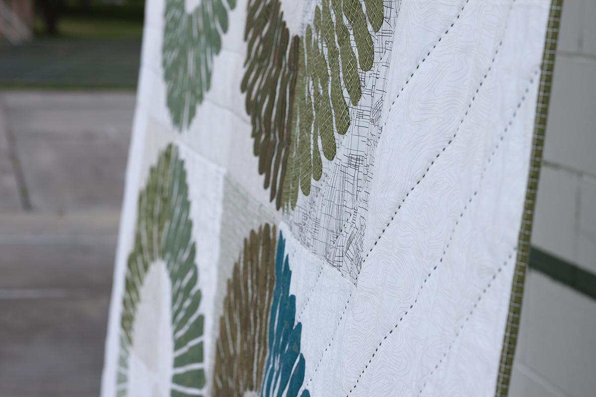 hunt quilt along quilt . carolyn friedlander