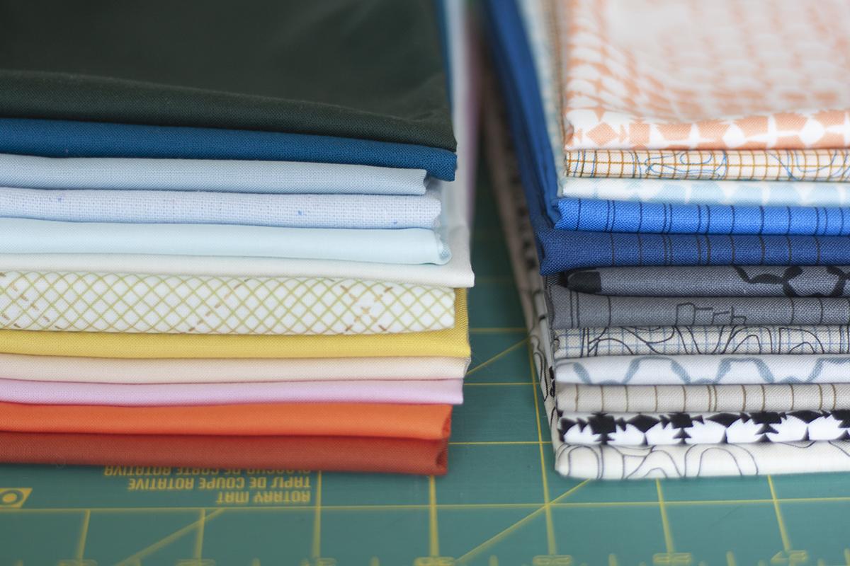 kept fabric and coordinates . carolyn friedlander