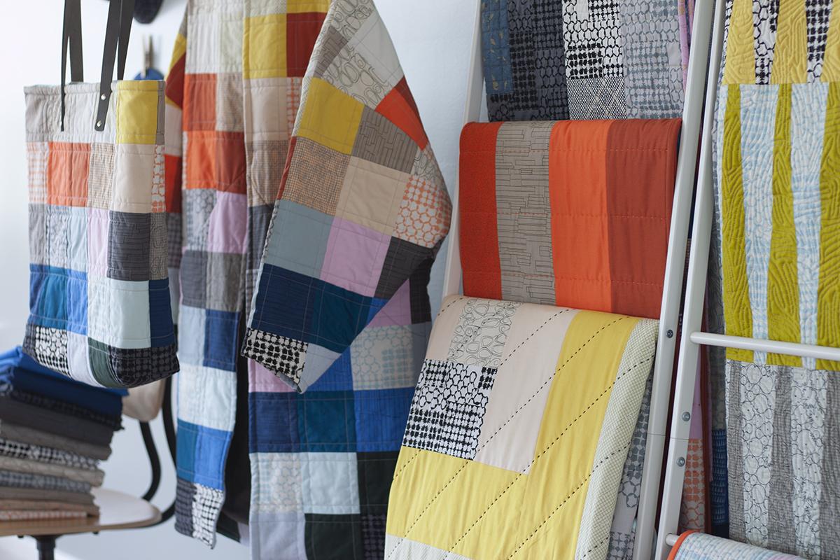 kept fabric projects . carolyn friedlander