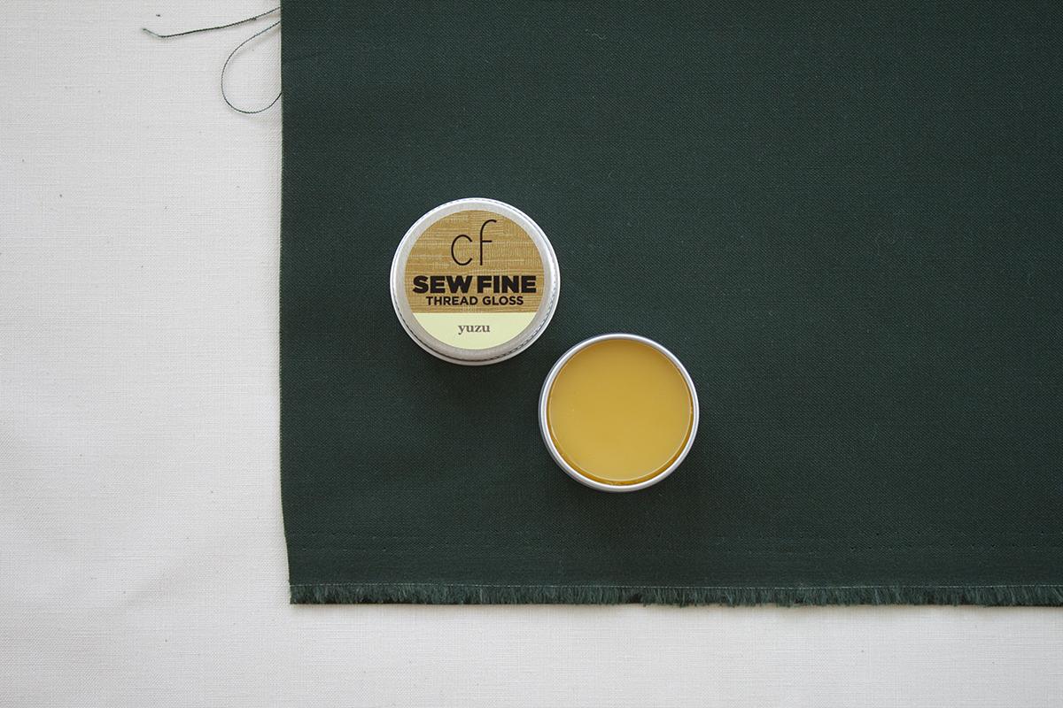 Sew Fine Thread Gloss in Yuzu