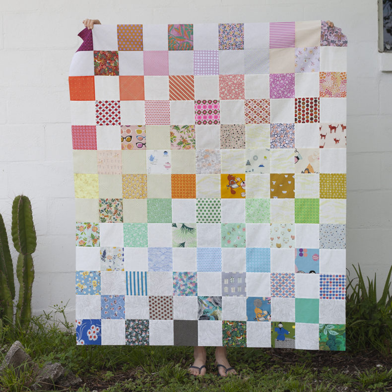 colorful quilt for my niece