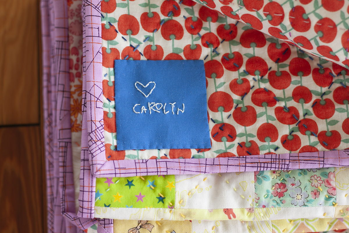 Colorful Quilts for my niece . carolyn friedlander