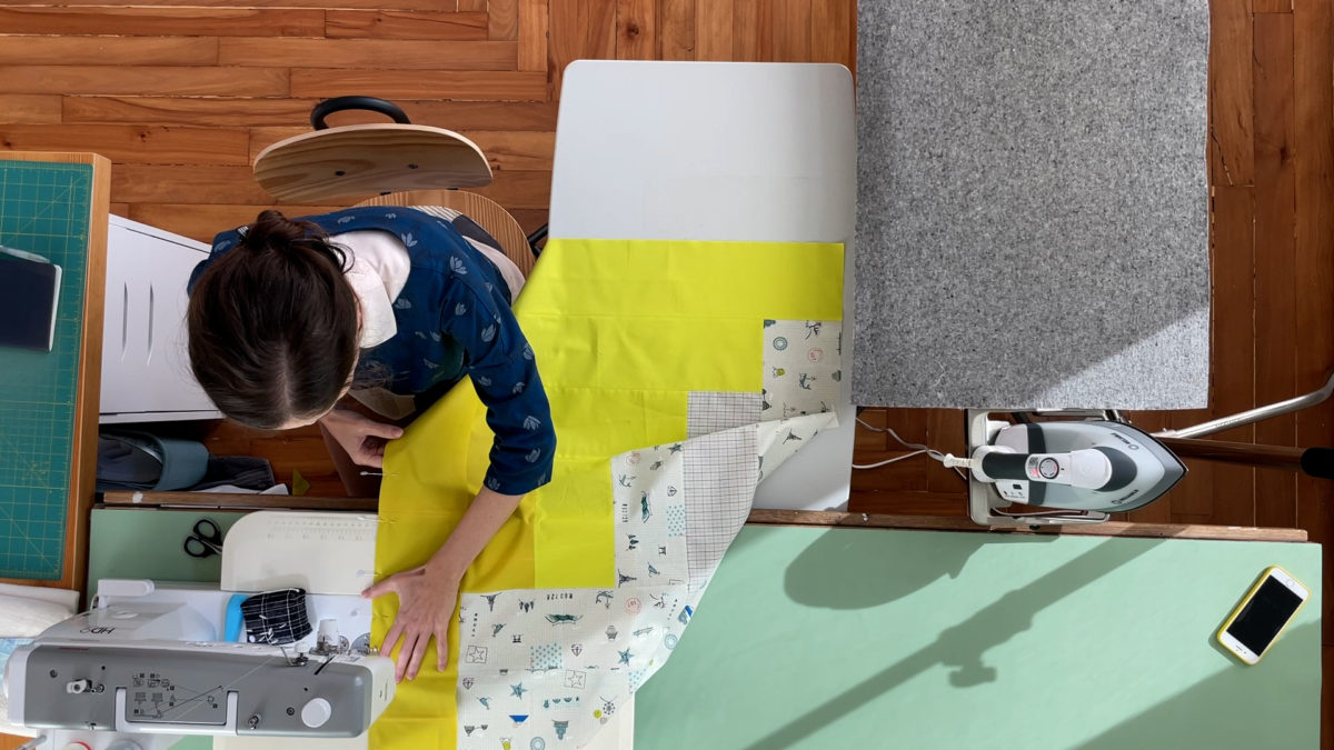 Ray Quilt Along #3: Sew It Together