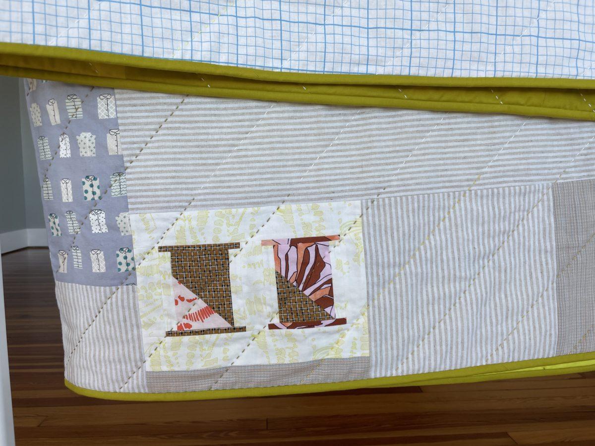 ray quilt along . carolyn friedlander