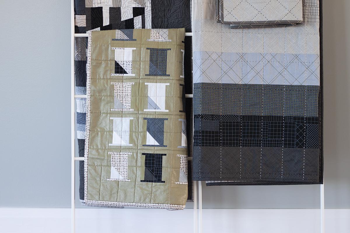projects made using CF Grid Group fabrics . carolyn friedlander