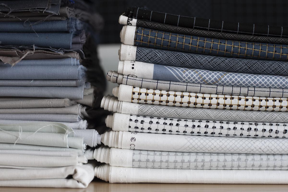 CF Grid Group fabric collection . carolyn friedlander