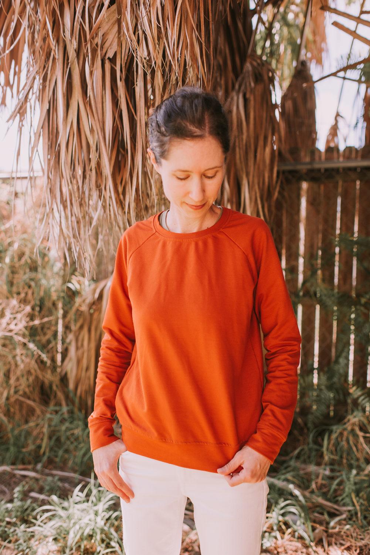 Linden Sweatshirt in Sienna