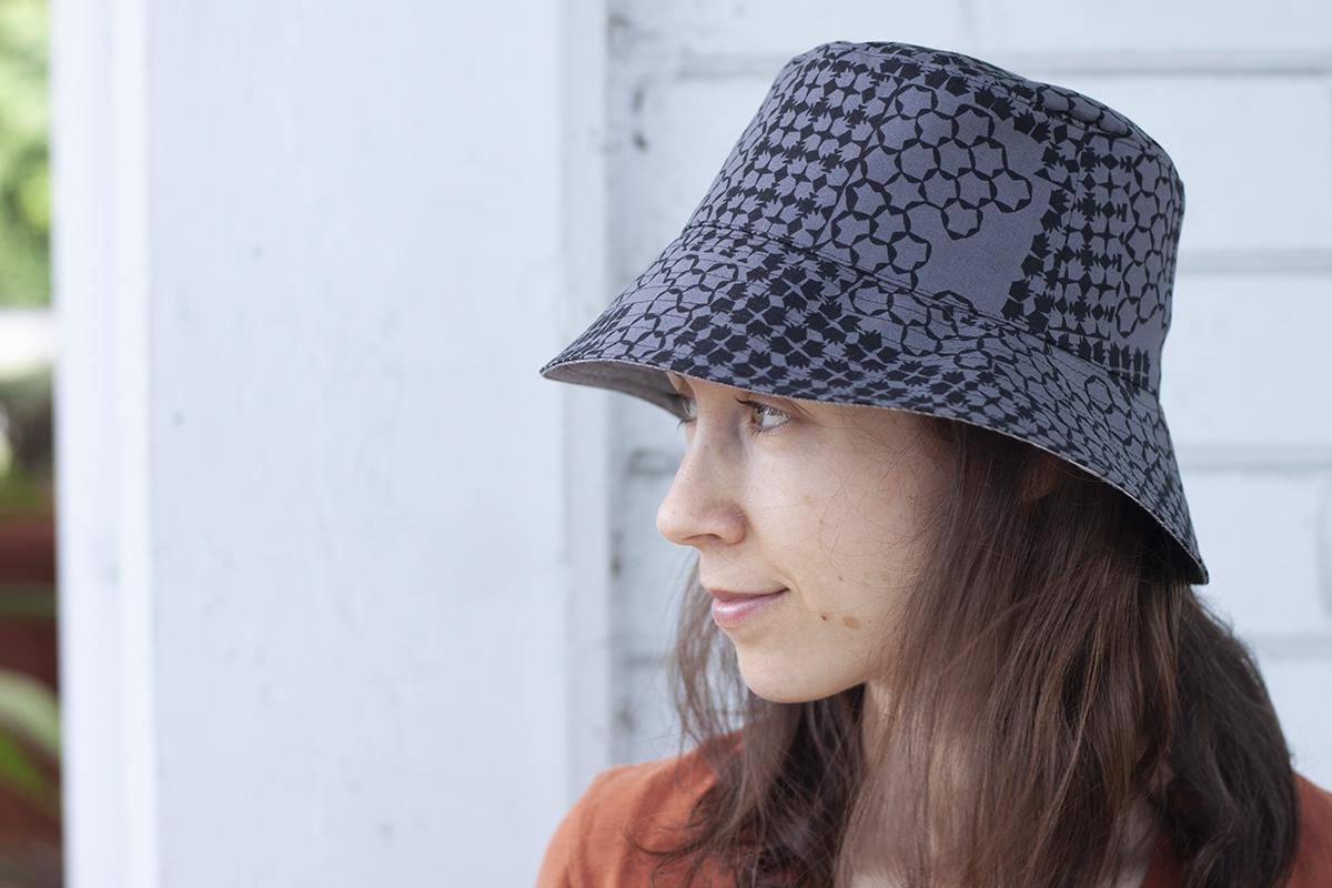 Sorrento Sun Hat in Kept fabrics