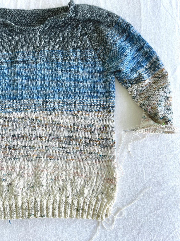 so faded sweater . carolyn friedlander
