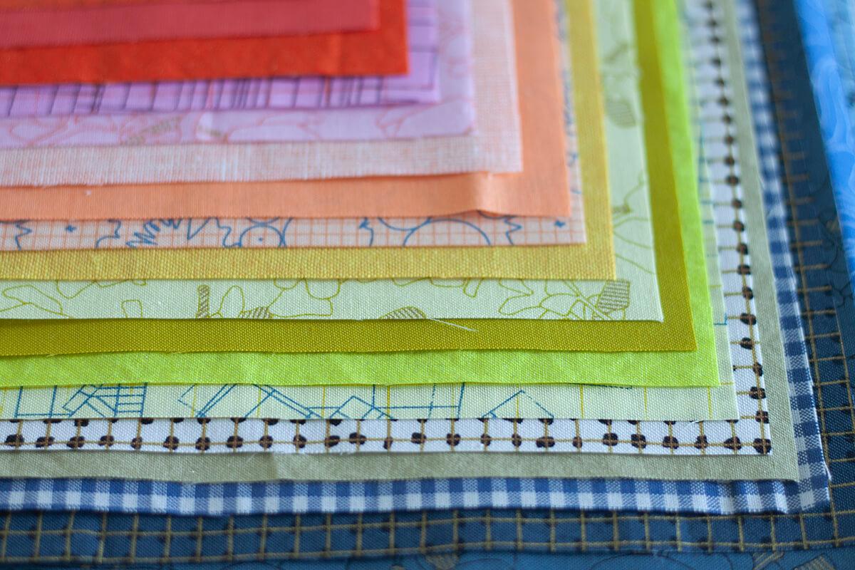 Cheering fabrics . carolyn friedlander